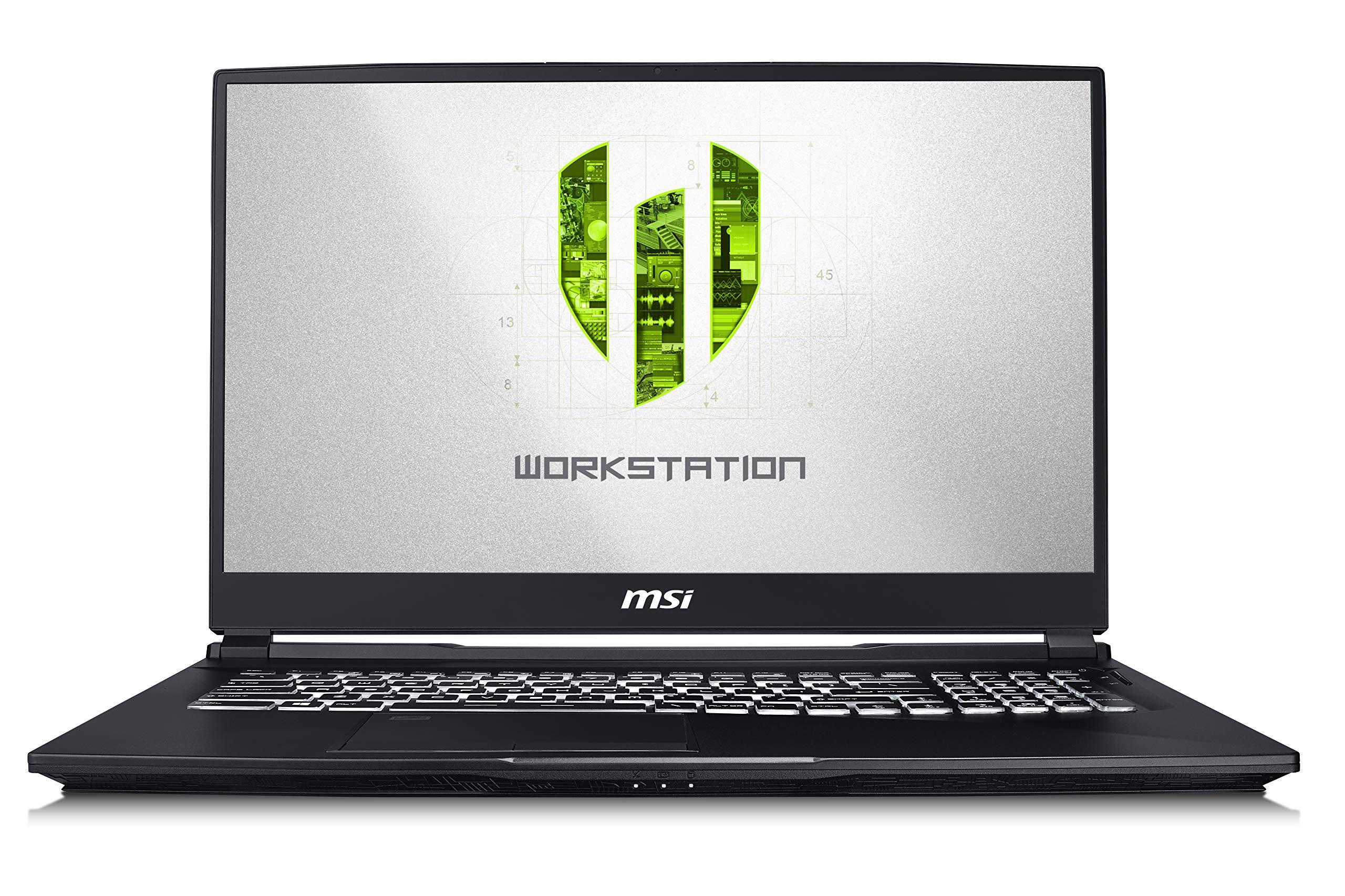 """MSI WE75 9TJ-001 17.3"""" Mobile Workstation, Intel"""