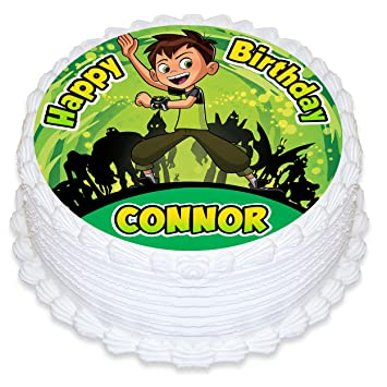 Other Baking Accessories Home & Garden Ben 10 Edible Party Cake Image Topper Frosting Icing Sheet