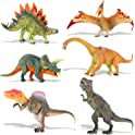 QuadPro 6-Pc. Jumbo Plastic Dinosaurs Figures