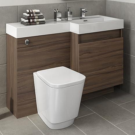 1200 mm nogal mueble baño fregadero cuarto de baño mano derecha de ...