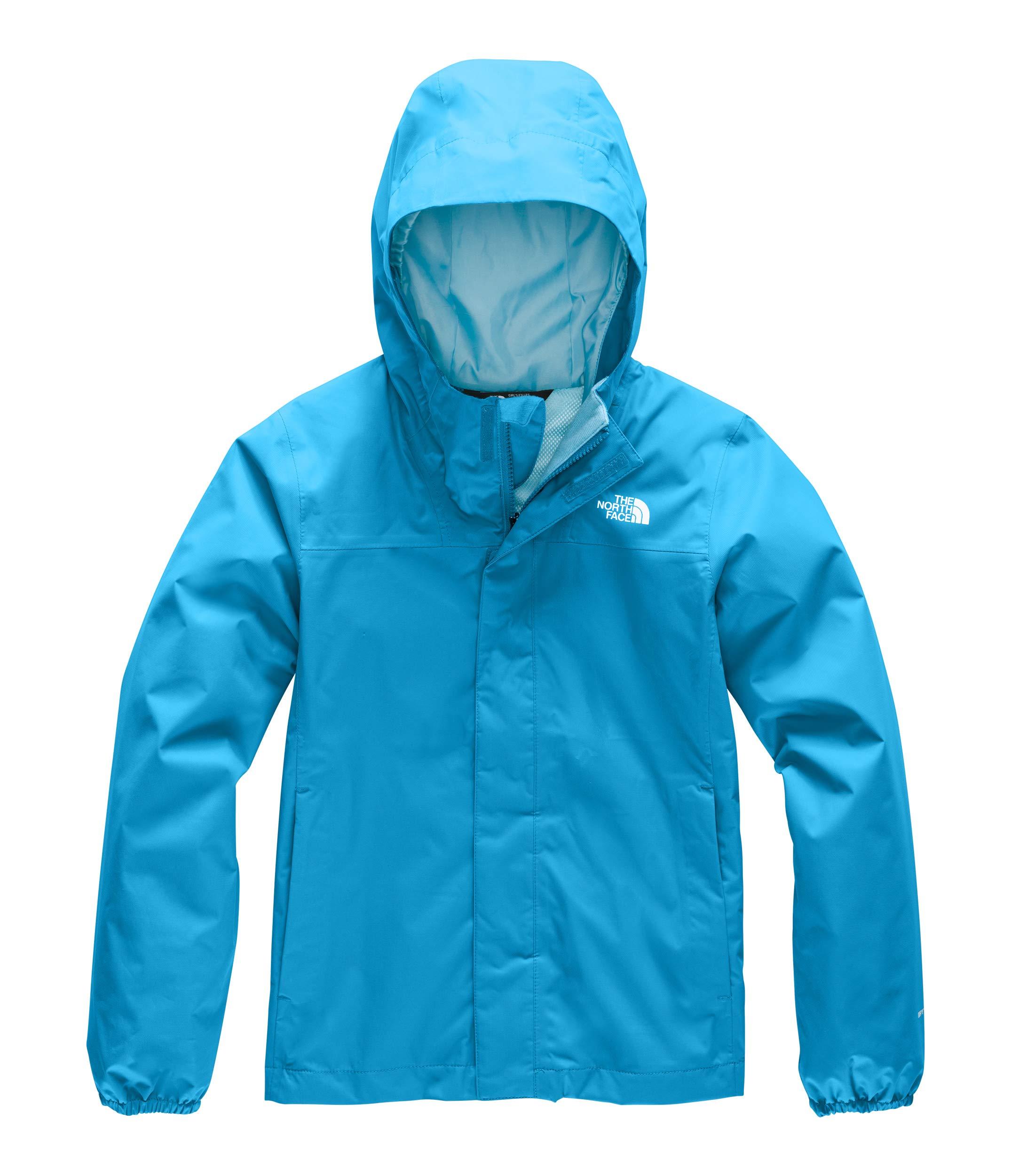 The North Face Kids Girl's Resolve Reflective Jacket (Little Kids/Big Kids) Acoustic Blue Large