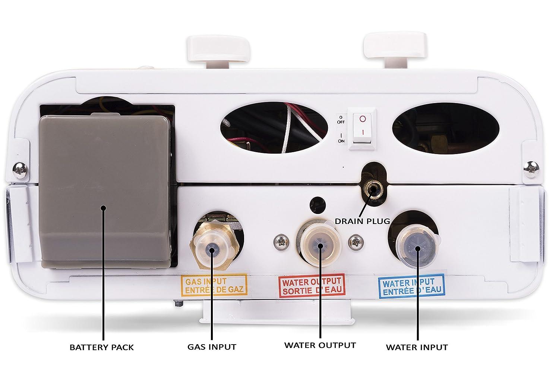 Eccotemp ECCL530 Tankless Portable Water Heater White
