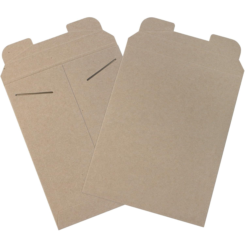 Aviditi RM2 Flat Mailer 11 1 2 Length x 9 Width Kraft Case of 100