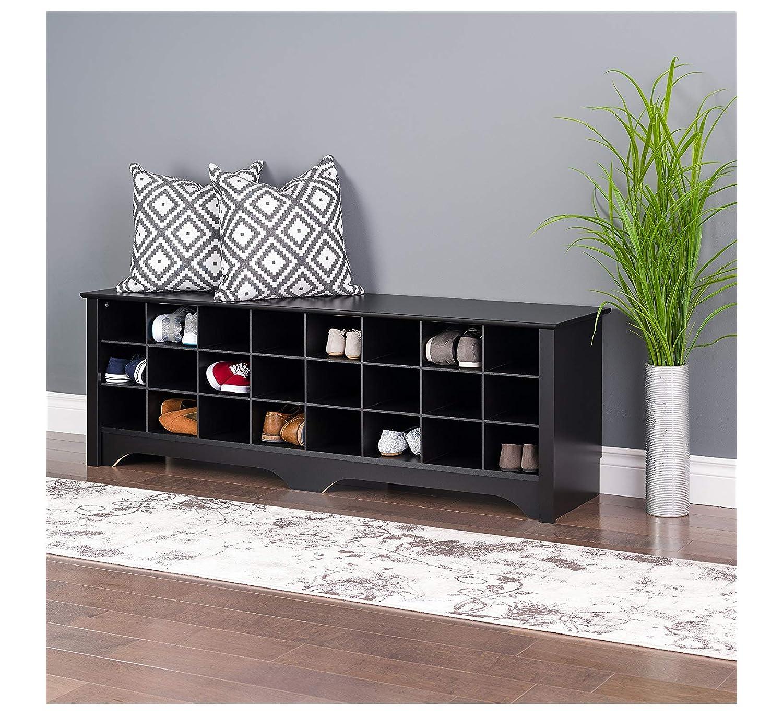 Amazon.com: Home - Banco de almacenamiento de zapatos de 24 ...