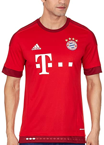 another chance 9a8ad 53140 adidas Bayern Munich Home Shirt 2015 2016