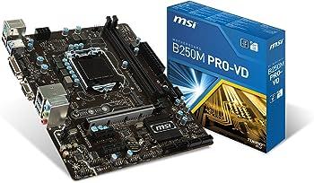 MSI B250M PRO-VD ATX Intel Motherboard