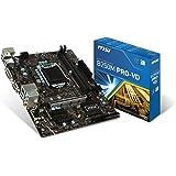 MSI Pro Series Intel B250 LGA 1151 DDR4 USB 3.1 micro-ATX Motherboard (B250M PRO-VD)