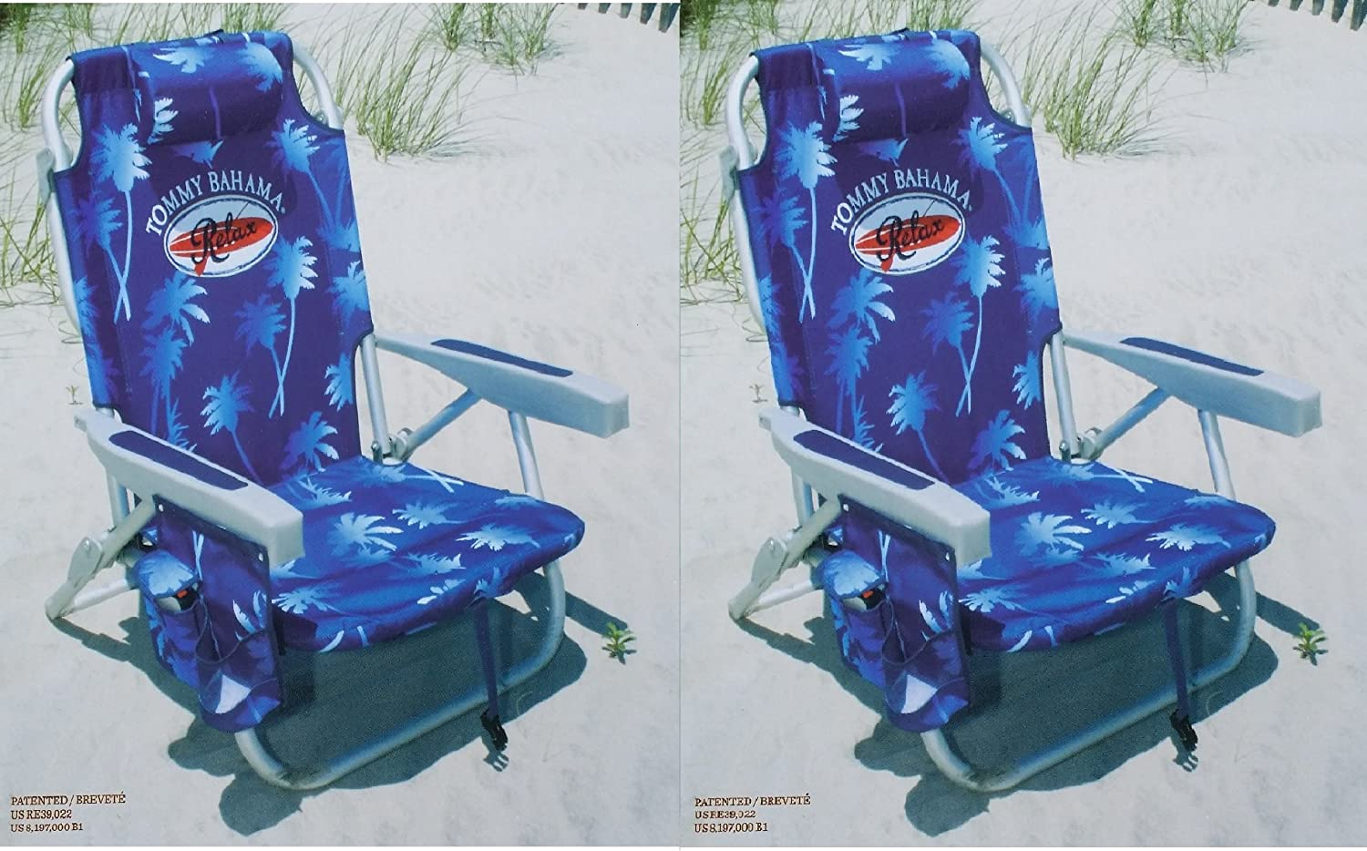 Amazon.com  2 Tommy Bahama 2015 Backpack Cooler Chairs with Storage Pouch and Towel Bar- blue  Sports u0026 Outdoors & Amazon.com : 2 Tommy Bahama 2015 Backpack Cooler Chairs with ... islam-shia.org