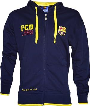 F.C Sudadera con capucha del F C colecci/ón oficial del F.C. Barcelona, talla de adulto Barcelona Barcelona