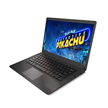 Zaith 14 1-inch Thin and Light Laptop (Intel Quad Core Z8350 / 4GB RAM /  32GB Storage (expandable to 256 GB) / Windows 10 Home / USB 3 0 )