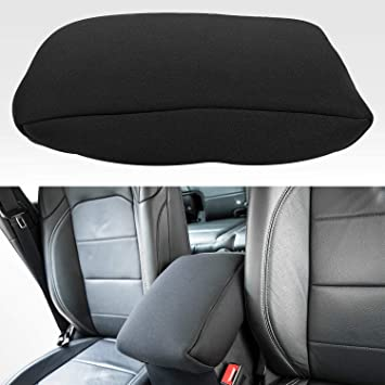 Black Bartact 2018-20 Jeep Wrangler JL /& JLU Padded Center Console Arm Rest Cover