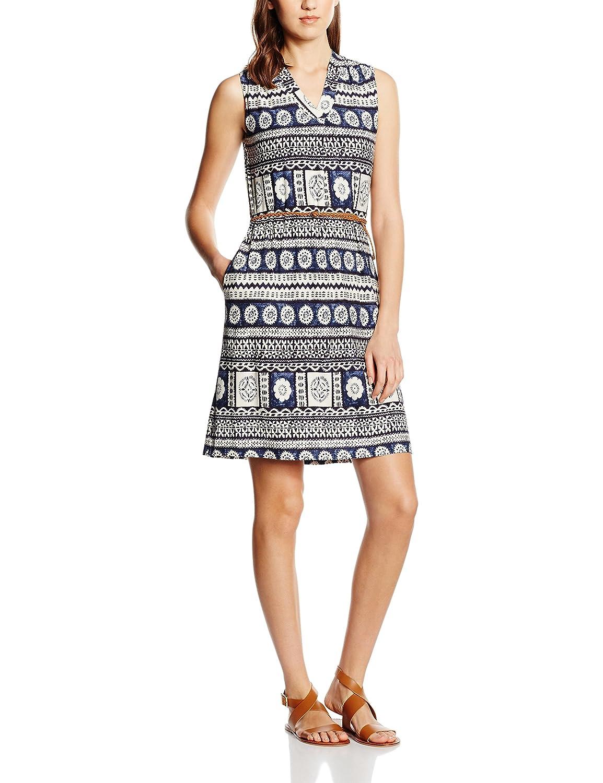 ESPRIT Women's 056eo1e003-Belt Dress