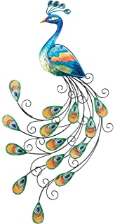 Regal Art U0026 Gift Glass Peacock Wall Decor Part 73