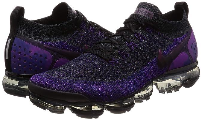 new products 88d00 990fa Amazon.com | Nike AIR Vapormax Flyknit 2 Black/Night Purple ...