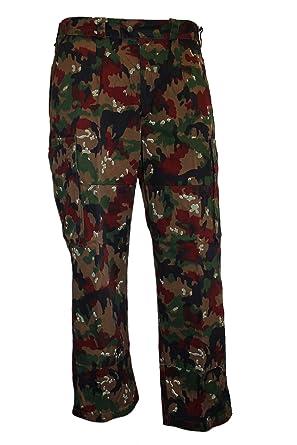 ab9c0c9ad5c3c Swiss Army Genuine Issued Alpenfalge Camo M83 Field Pants GRADE 1:  Amazon.co.uk: Clothing