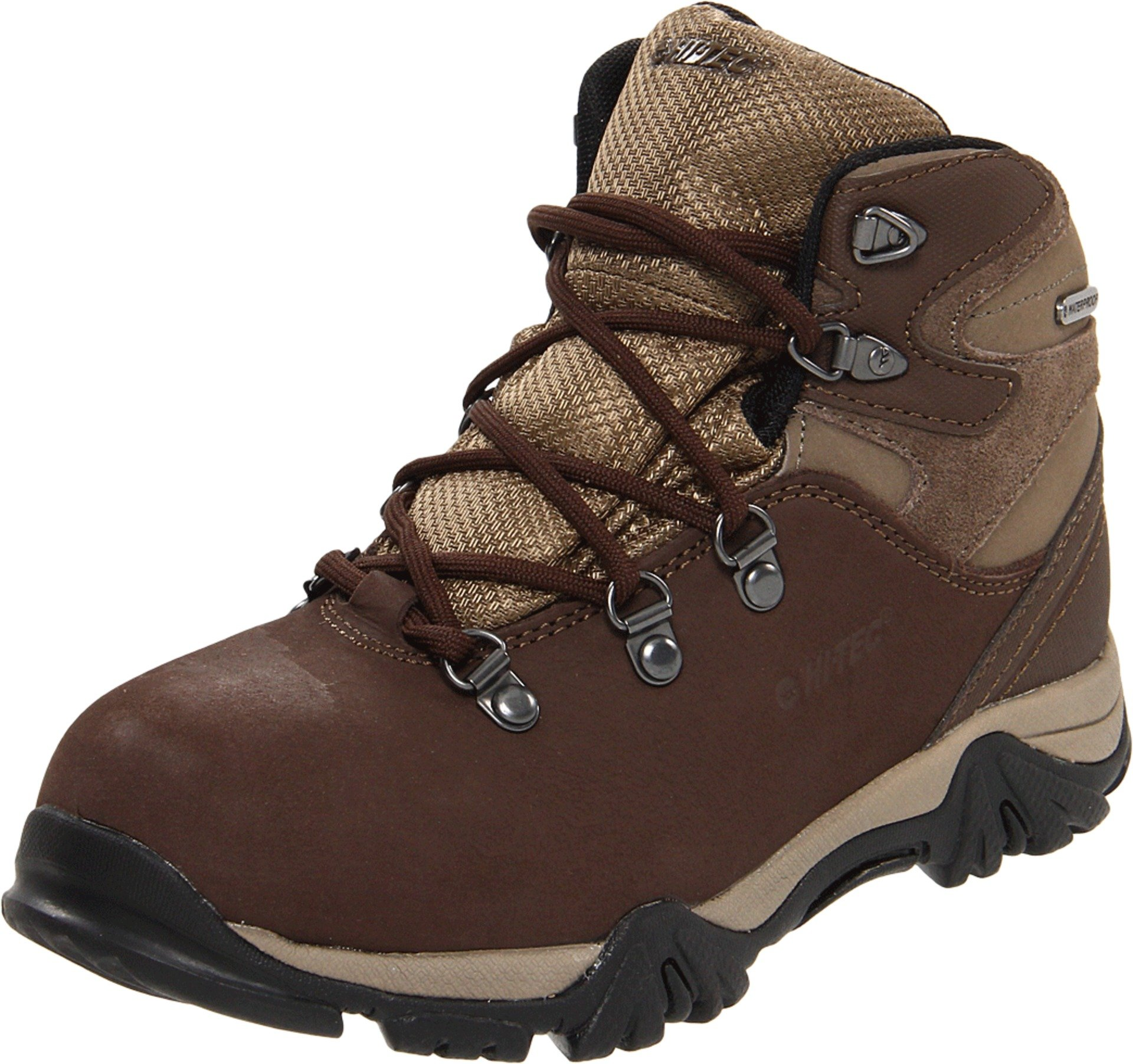 Hi-Tec Oakhurst Trail WP Hiking Boot (Toddler/Little Kid/Big Kid),Chocolate/Taupe,2.5 M US Little Kid