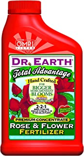 product image for Dr. Earth 100531566 Total Advantage Rose and Flower Liquid Fertilizer Concentrate, White
