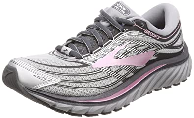 c00fae2f4c0a8 Brooks Women s Glycerin 15 Silver Grey Rose 5.5 B US  Amazon.co.uk ...