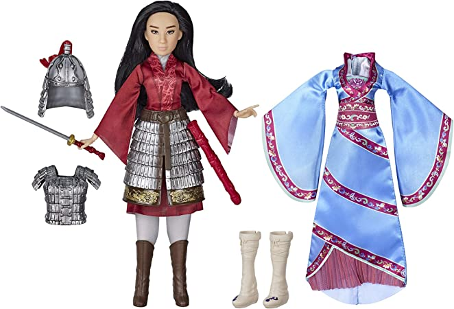 Amazon Com Disney Mulan Two Reflections Set Fashion Doll With 2 Outfits And Accessories Toy Inspired By Disney S Mulan Movie Toys Games