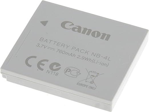 Original Akku Für Canon Typ Nb 4l Original Li Ion Kamera