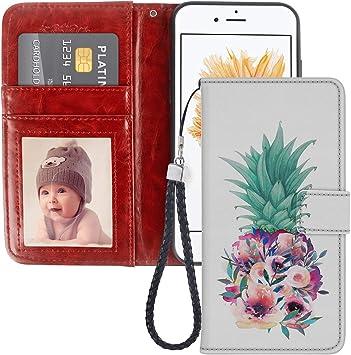 Coque pour iPhone 5C Motif ananas floral Coque en TPU souple à ...