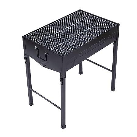 llar de barbacoa al abierto/Char-Griller Deluxe Charcoal Grill (Camping Media cocción mesa/Outdoor Barbecue Party y picnic, 634166CM: Amazon.es: Deportes y ...