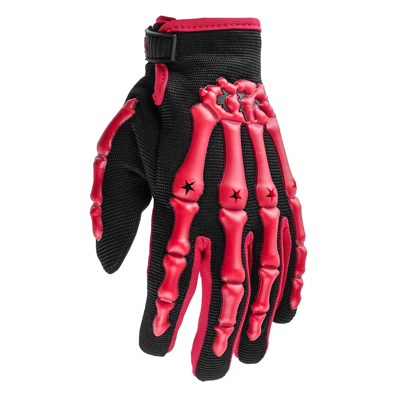 Typhoon Youth Kids Motocross Motorcycle Offroad BMX MX ATV Dirt Bike Gloves - Red - Medium Typhoon Helmets YGLVREDM
