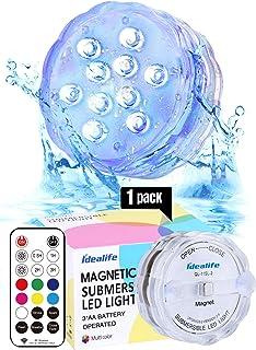 Amazon.com: GlowTub Underwater Remote Controlled LED Color ...
