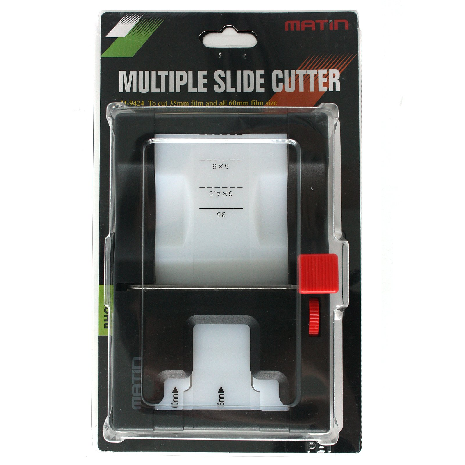 Matin Multiple Slide Film Cutter for 35mm 6x45 6x6 6x7 60mm Format by MATIn
