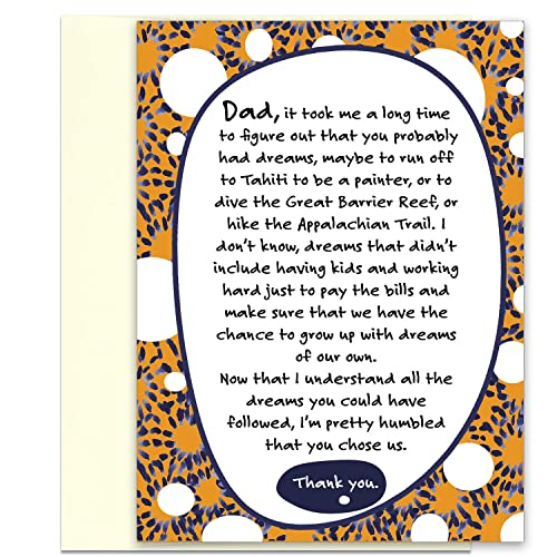 Funny Fathers Day Card Birthday Card For Dad Thank You Card For Dad