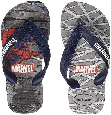 58e08ef9d Havaianas Unisex Kids Top Spiderman Flip Flops  Amazon.co.uk  Shoes ...