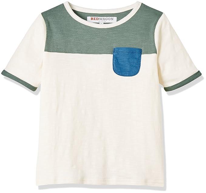 RED WAGON Camiseta de Colores para Niños  Amazon.es  Ropa y accesorios 14d4f9643aaf4