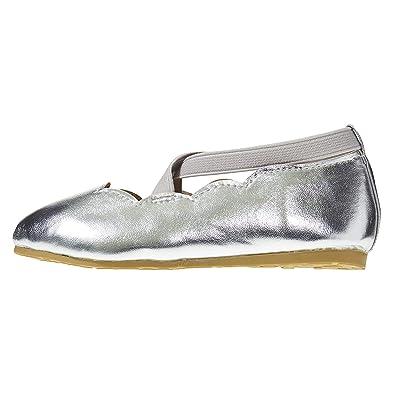 Amazon.com: Zapatillas de ballet para niñas con puntera ...