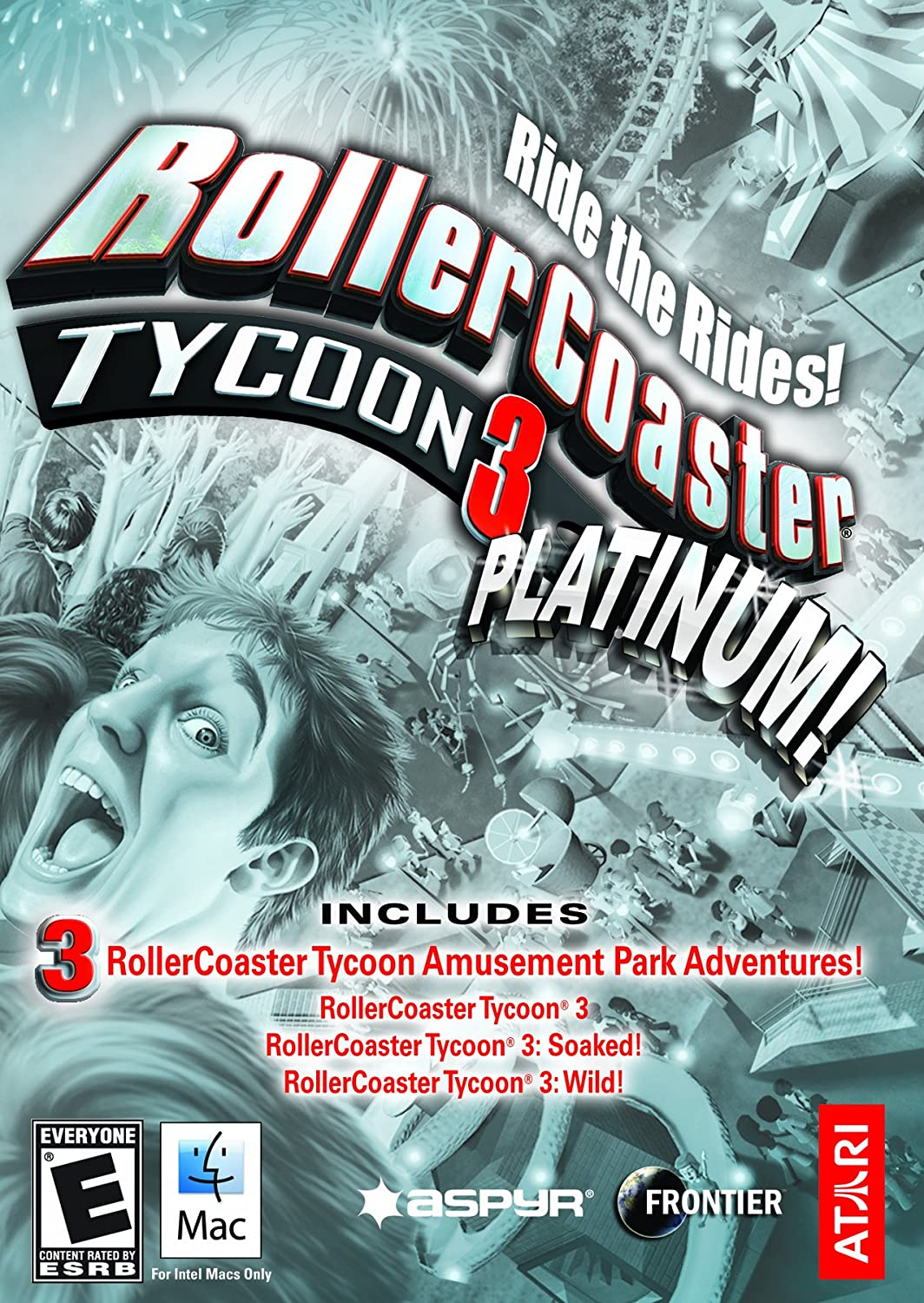 Amazon com: RollerCoaster Tycoon 3 Platinum [Online Game