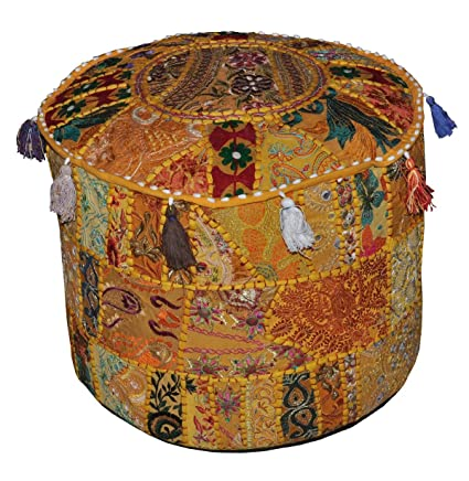 Suelo amortiguador cómodo Otomano decorativos tradicionales ...