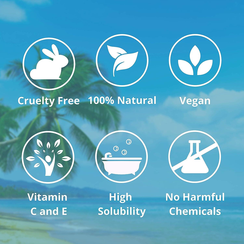 Nortembio Sal de Epsom 1,25 Kg. Novedosa Fragancia de Coco Tropical. Hidratada con Vitamina C y E. Sales de Baño y Cuidado Personal.: Amazon.es: Hogar