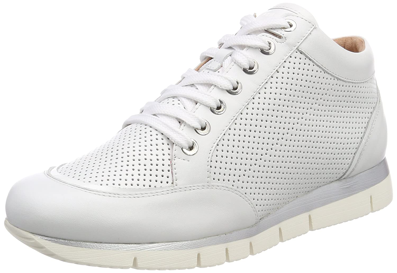 Unisa Budy_Ri, Zapatillas Altas para Mujer 37 EU|Blanco (White)