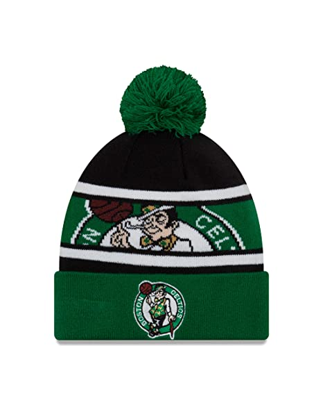 low priced e5d55 7f05c Image Unavailable. Image not available for. Color  New Era Boston Celtics  Sport Knit ...