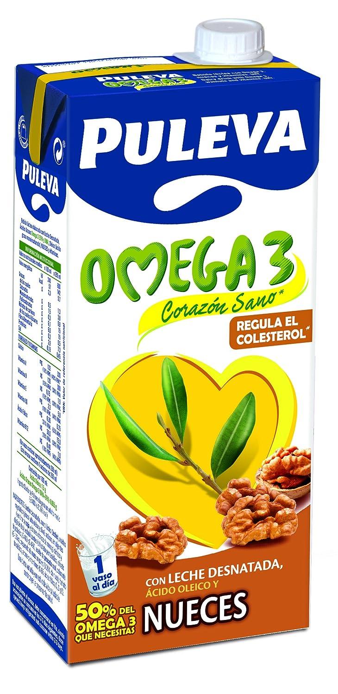 Puleva Omega 3 con Nueces - Pack 6 x 1 L: Amazon.es: Alimentación y bebidas