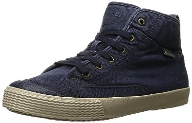 Simple Men's Waltham Fashion Sneaker, Navy Canvas, ...