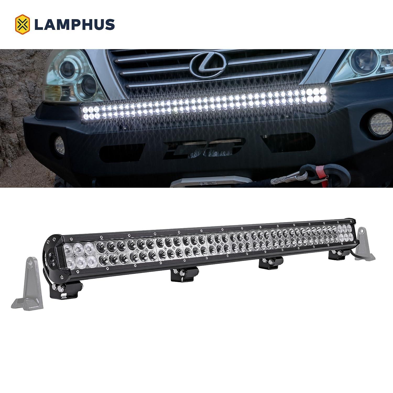 LAMPHUS CRUIZER (30/60 Degree) Spread LED Light Bar For Jeep Wrangler