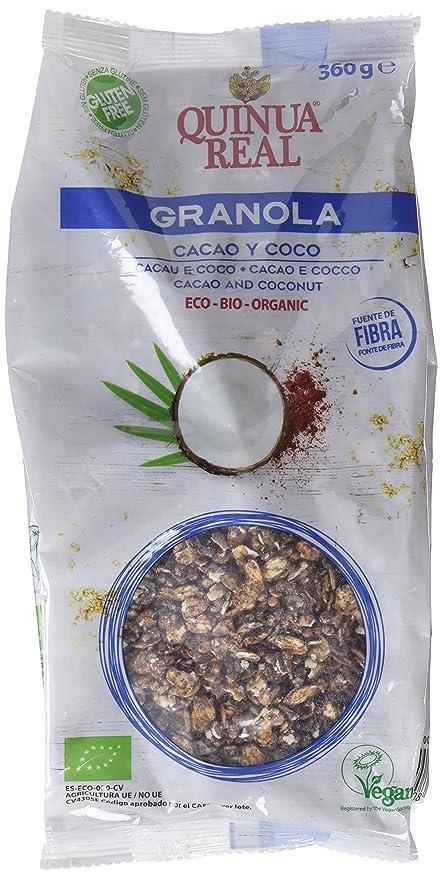 Quinua Real Granolas con Cacao y Coco - 360 gr: Amazon.es: Alimentación y bebidas