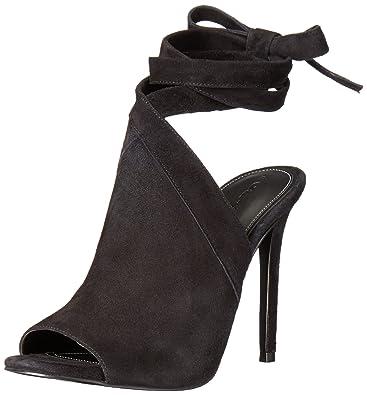 KENDALL + KYLIE Women's Evelyn Dress Sandal, Black, ...