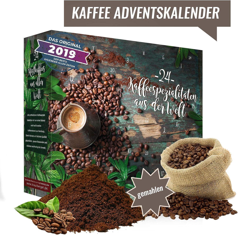 Calendrier de lavent du caf/é I Calendrier de No/ël avec 24 d/élicieux caf/és du monde entier.