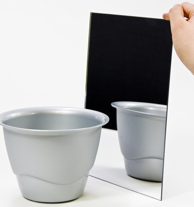 Acryl-Spiegel//Plexiglas-Spiegel 3mm XT 70 x 18 cm