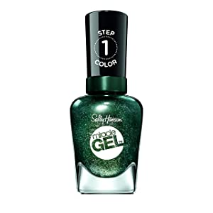 Sally Hansen Miracle Gel Nail Polish Lacquer, Neblue La, 0.5 Fl. Oz.