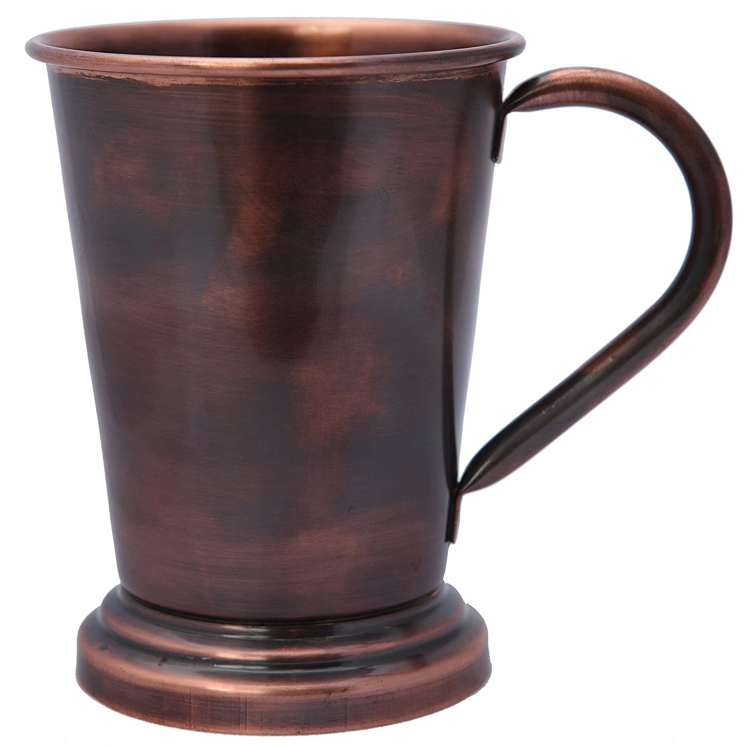 Melange 100% Authentic Copper Artisan Collection Moscow Mule Mug, Antique Finish, Size-16 oz, Set of 4 Mugs 724190532836