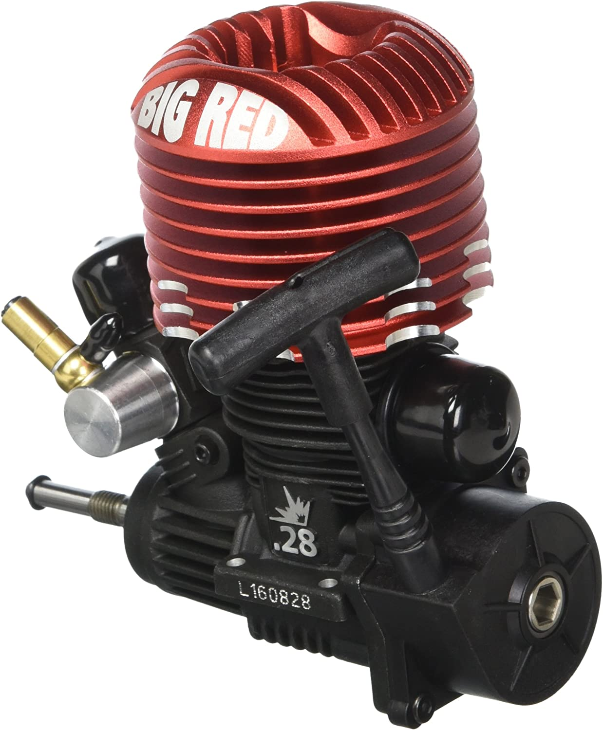 Dynamite Big Red Monster .28 Mach 2 Engine with Pull/Spin Start, DYN0992