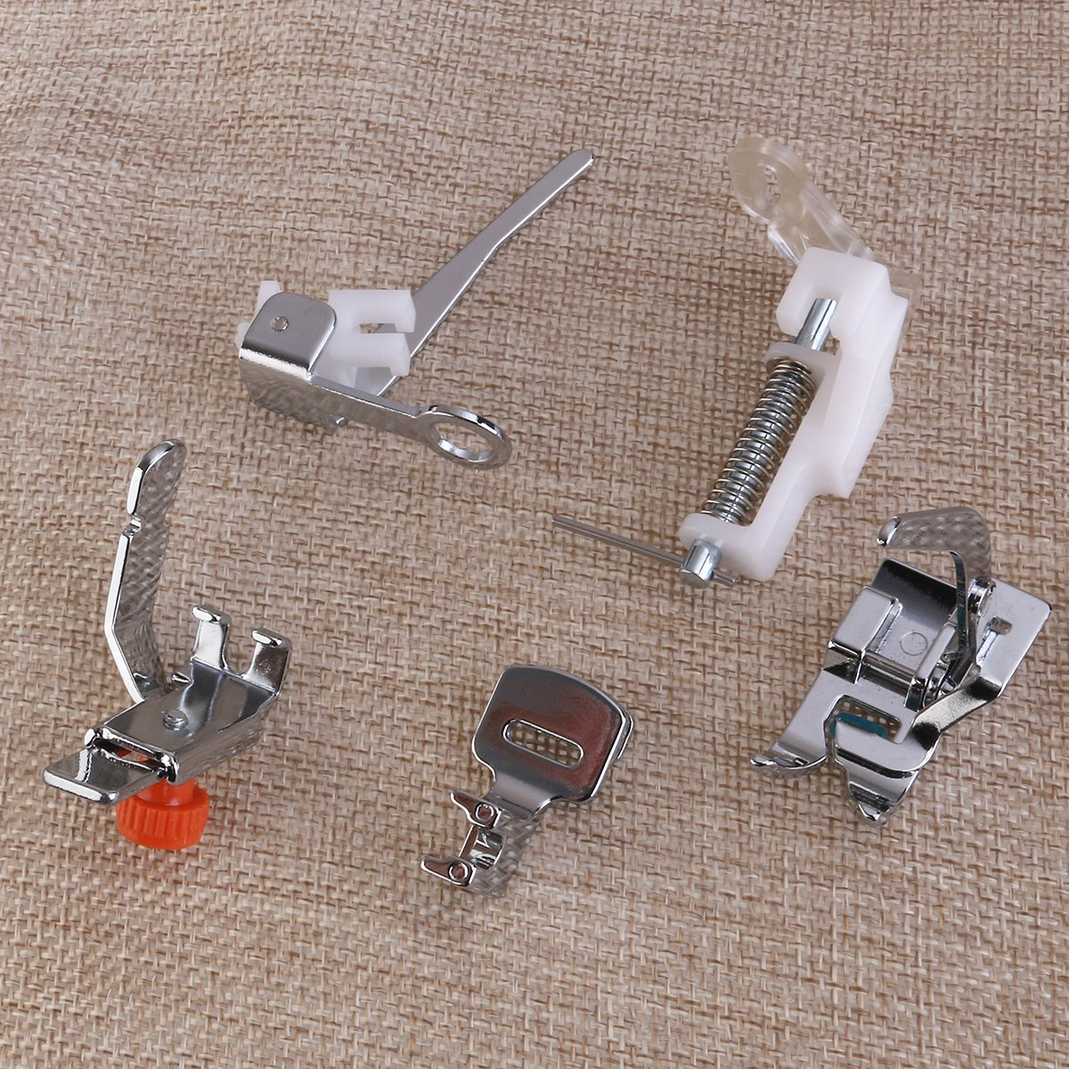 Amazon.com: ROSENICE Sewing Machine Domestic Foot Presser Feet Set for Brother Singer Janome A 42pcs