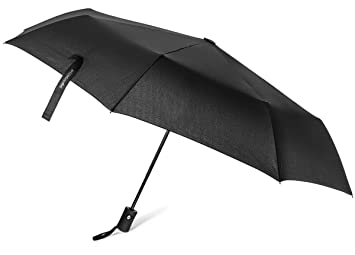 Paraguas viajero TripWorthy, Resistente al viento, Compacto, Liviano, Duradero, Apertura automática